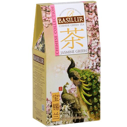 basilur Зеленый чай Basilur Зеленый жасмин картон 100 г 2697458