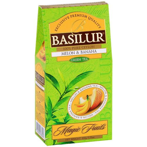 basilur Зеленый чай Basilur Дыня и Банан картон 100 г 2697473