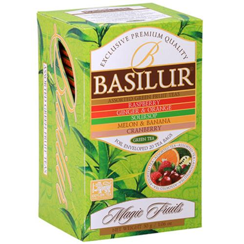 basilur Зеленый чай Basilur Ассорти 20х1,5 г 2697477