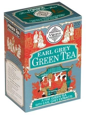Зеленый чай Эрл грей Млесна картон 200 г
