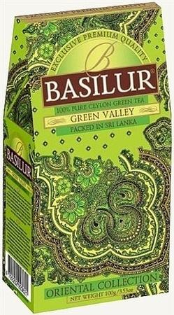 basilur Зеленый чай Basilur Зеленая долина картон 100 г 2976638