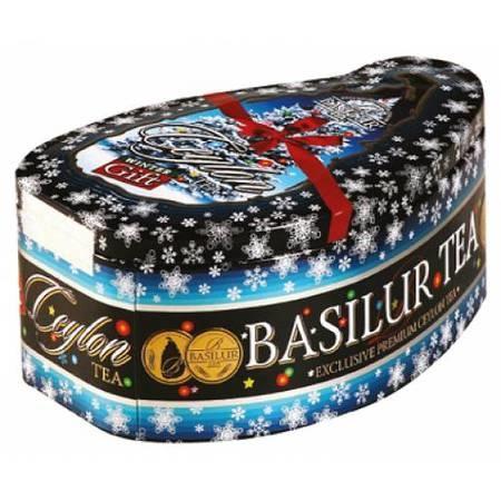 basilur Зеленый чай Basilur Зимний подарок ж/б 100 г 2976714