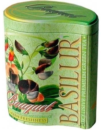 basilur Зеленый чай Basilur Зеленая свежесть ж/б 100 г 2976745