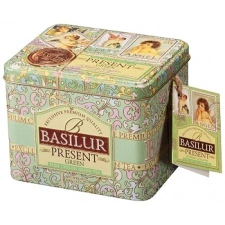 basilur Зеленый чай Basilur Зелёный подарок ж/б 100 г 2976755