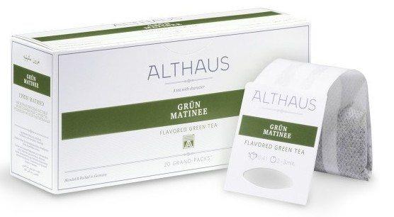 althaus Зеленый чай Грюн Матинэ Althaus фильтр-пак 80 г 4093852