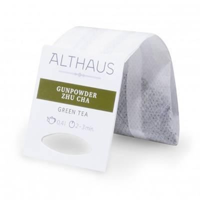 althaus Зеленый чай Ганпаудер Жу Ча Althaus фильтр-пак 80 г 4093866
