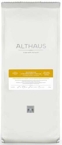 althaus Чай ройбуш Клубника со сливками Althaus 250 г 4096606