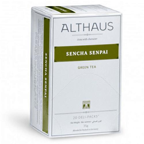 althaus Зеленый чай Сенча Семпай Althaus фильтр-пак 30 г 4088782