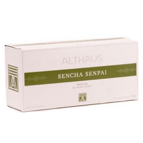 althaus Зеленый чай Сенча Сенпай Althaus фильтр-пак 80 г 4093927