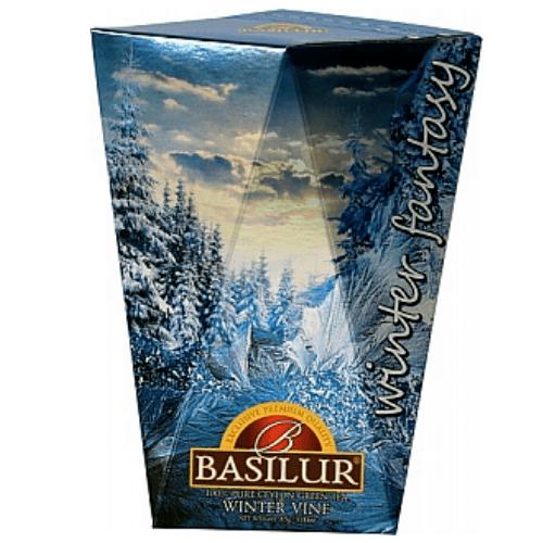 basilur Зеленый чай Basilur Зимняя лоза картон 85 г 6721903