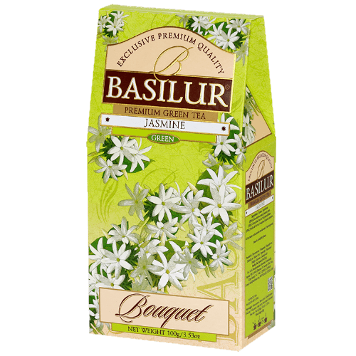 basilur Зеленый чай Basilur Жасмин картон 100 г 6721923